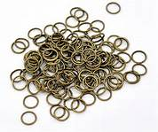 500 x 7mm Bronze Jump Rings